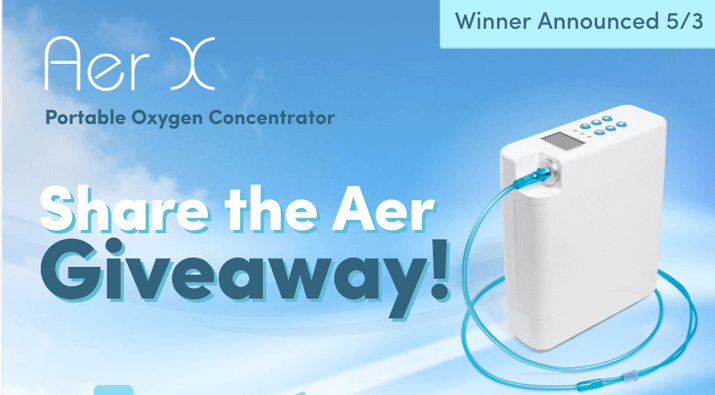 Portable Oxygen Concentrator Giveaway