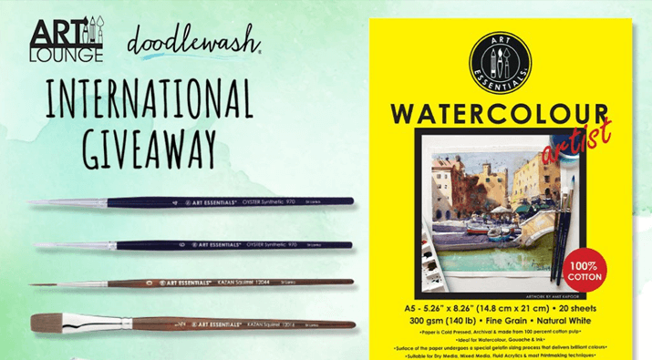 Art Lounge Watercolor Pack Giveaway