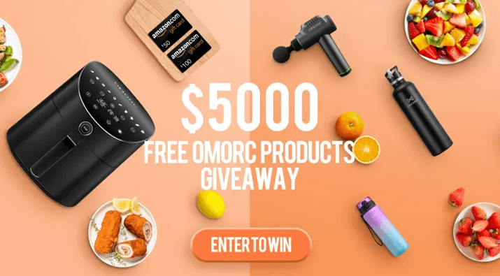 Home Appliances + Sports Equipment Giveaway
