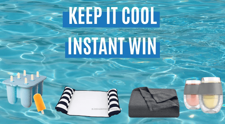 Keep It Cool Instant Win Summer Giveaway