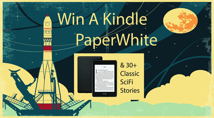 Kindle Paperwhite + SciFi Stories Giveaway