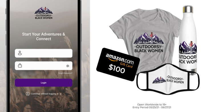 Outdoorsy Black Women Prize Pack Giveaway