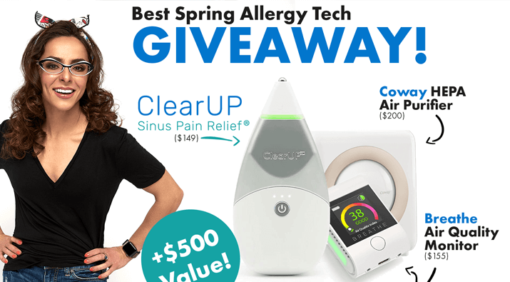 Spring Allergy Tech Giveaway