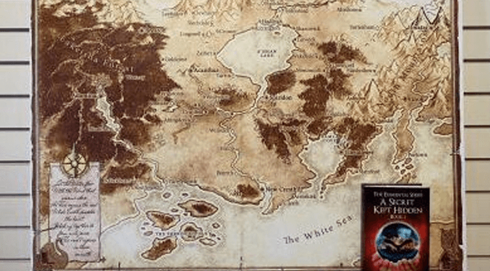 World of Kalondial Map Giveaway