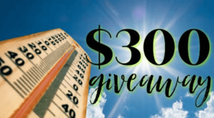 $300 Sizzling Summer Giveaway