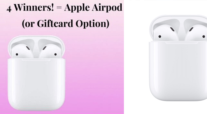 Apple Airpods Giveaway