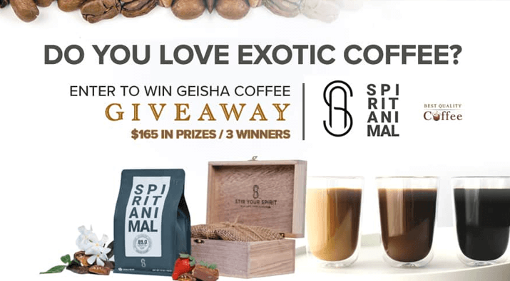 Exotic Coffee Giveaway
