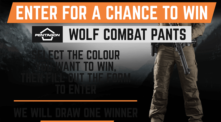 Maxpedition Wolf Combat Pants Giveaway