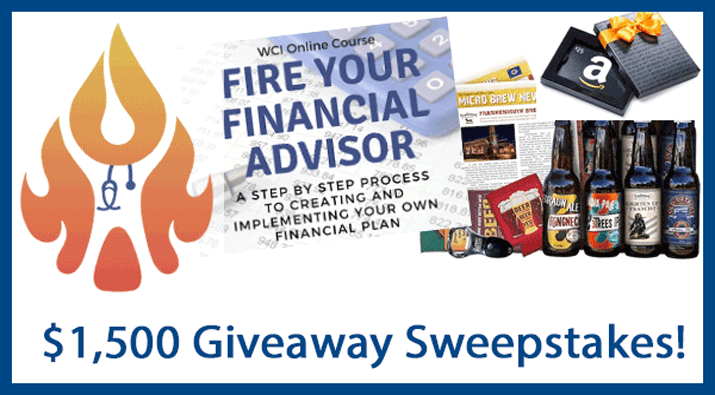 $1,500+ Fire Your Financial Advisor Giveaway