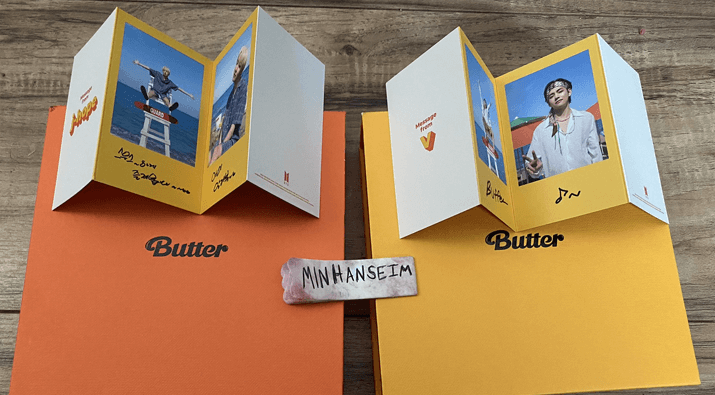 2x BTS Butter Giveaway