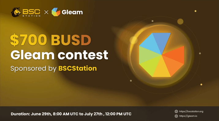 $700 BUSD BSCStation Giveaway