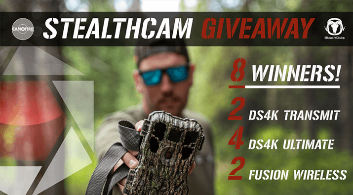 8 StealthCams Giveaway
