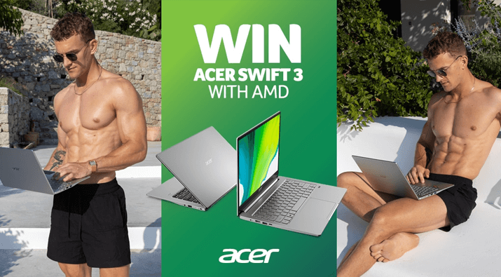 Acer Swift 3 Giveaway