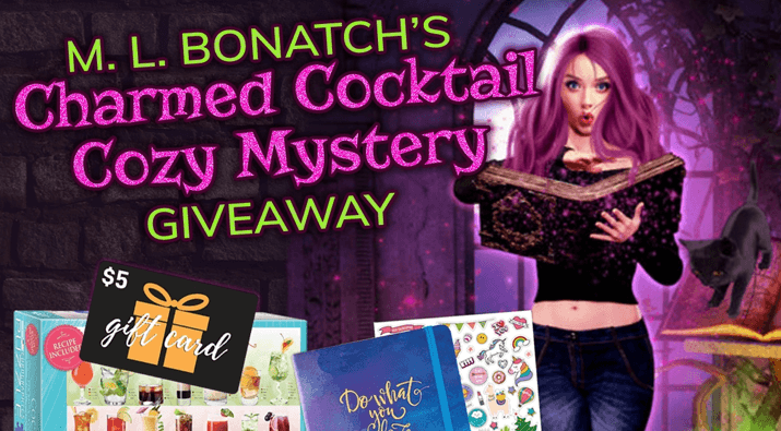Charmed Cocktail Cozy Mystery Giveaway