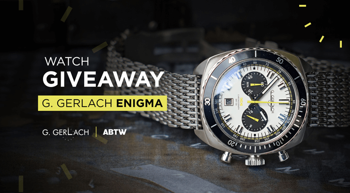 G. Gerlach Enigma Giveaway