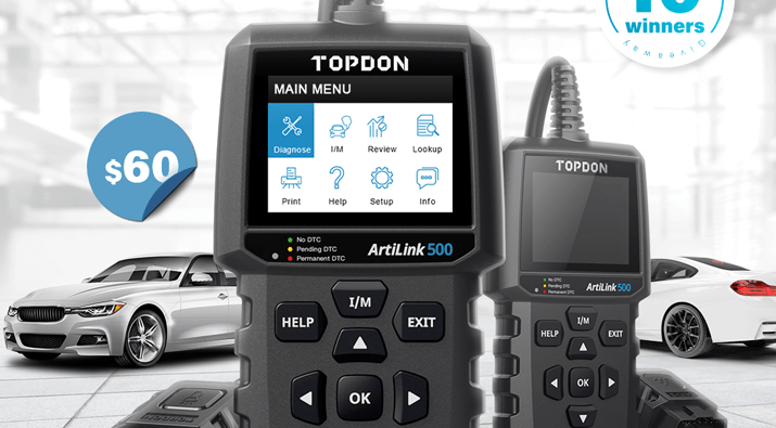 OPDON All-in-1 OBD2 Scanner Giveaway