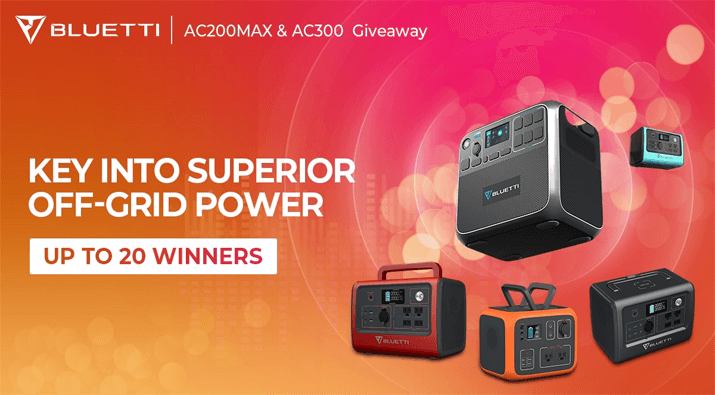 Portable Power Station Giveaway