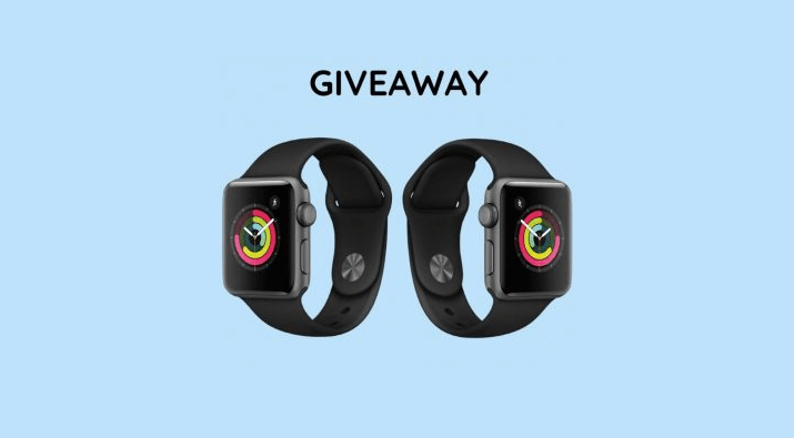 2 Apple Watches Giveaway
