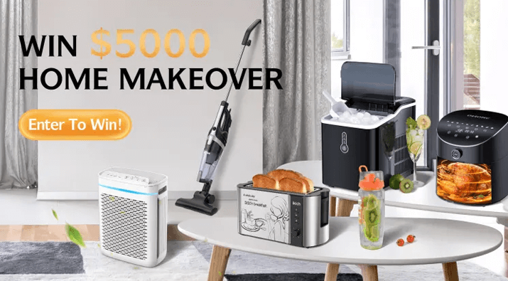 $5000 Free Home Makeover Giveaway