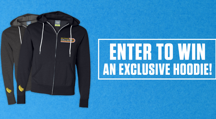 800 Pound Gorilla Records Hoodie Giveaway