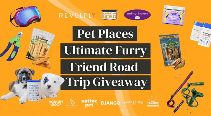 $800+ Ultimate Furry Friend Road Trip Giveaway