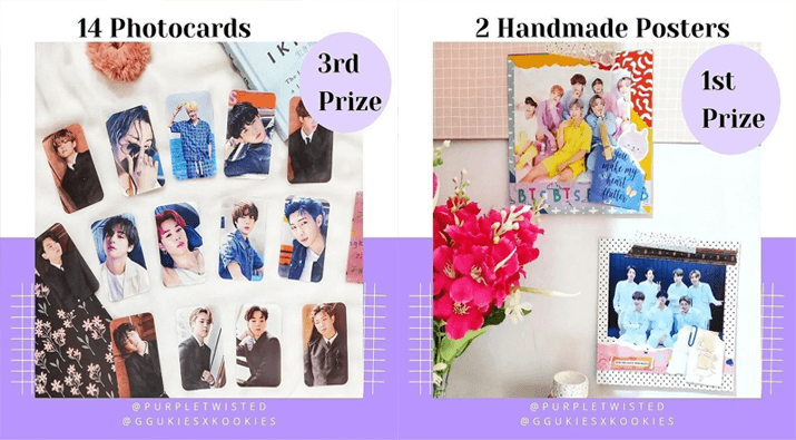 BTS Photocards + Poster Giveaway