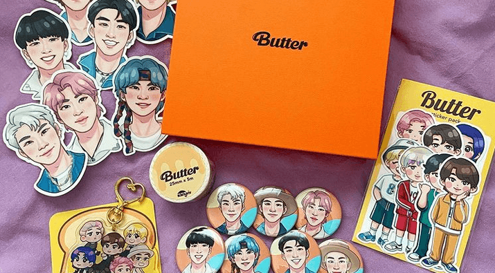 Butter + Permission To Dance Merch Giveaway