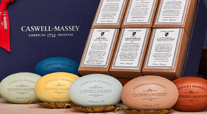 Caswell Massey Soap Giveaway
