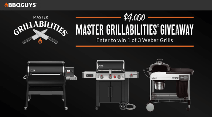 Master Grillabilities Giveaway