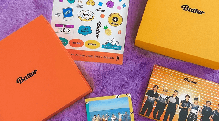 2x Unsealed BTS Butter Albums Giveaway