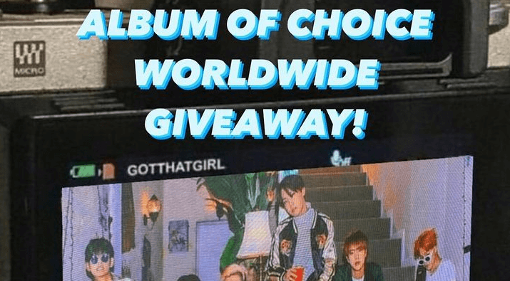 $40 KPop Album of Choice Giveaway