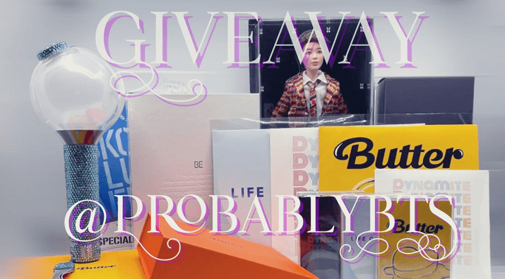BTS 7 Mystery Box Giveaway