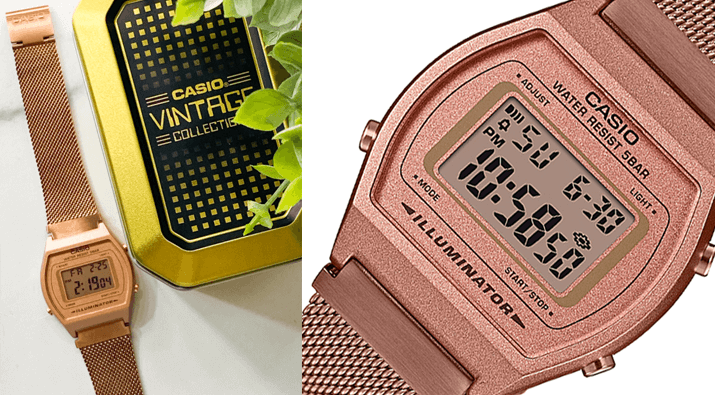 Casio Rose Gold Vintage Watch Giveaway