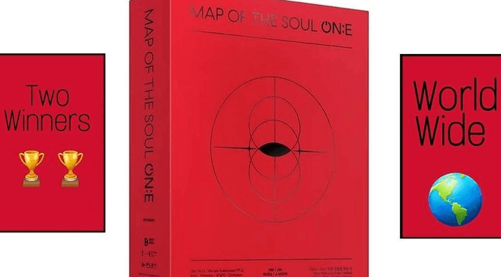 Map of the Soul ONE DVD Giveaway